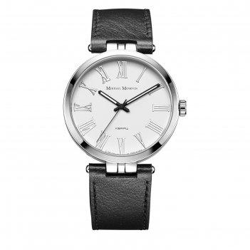 Часы наручные мужские михаил москвин, кварцевые, модель 1127a1l1-1