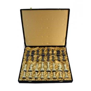 Шахматы классические в бархатной коробке