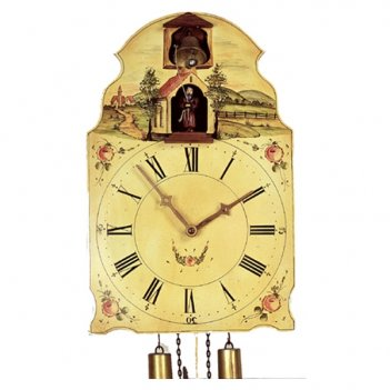 Настенные часы с кукушкой rombach & haas 7378