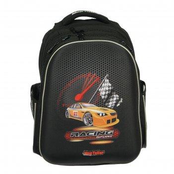Рюкзак каркасный mag taller stoody, 40 х 30 х 20, для мальчика, racing, чё