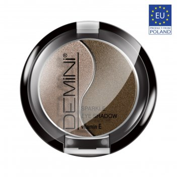 Тени для век demini sparkle eye shadow с витамином е, тон 20