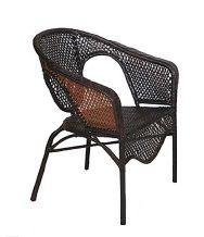 Кресло из комплекта мебели рандеву a255b (кофе)