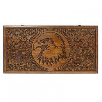 Нарды резные орел люкс