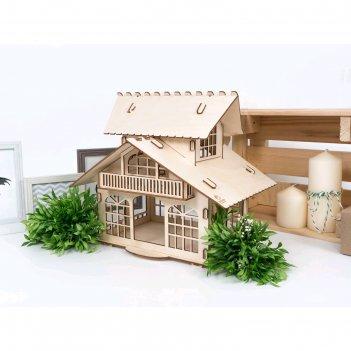 Деревянный конструктор-кормушка «рио»