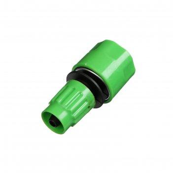 Коннектор 10 мм, цанга, (для чудо-шланга) рр-пластик