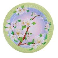 Тарелка с ламинацией яблоня, 18 см