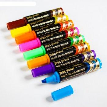 Набор маркеров на водной основе премиум (8шт) 2х7х17,7 см