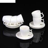 Сервиз кофейный 12 предметов арабика чашка 7,4х5,7х5,8 см, блюдце d-12 см