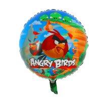 Шар фольга 18 hesaver angry birds s60 круг аг