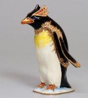 Jb- 14 шкатулка пингвин