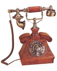 Ретро-телефон playbox (270х150х295 мм) pb-0018