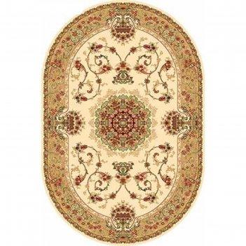 Овальный ковёр izmir d037, 300 х 400 см, цвет cream