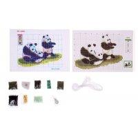 Набор для вышивания бисером панды