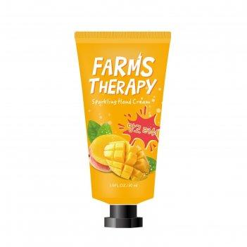 Крем для рук farms therapy манго, 30 мл