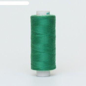 Нитки, 366 м, цвет зелёный
