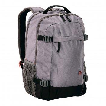 Рюкзак wenger 16, серый, 33x28x46 см, 28 л