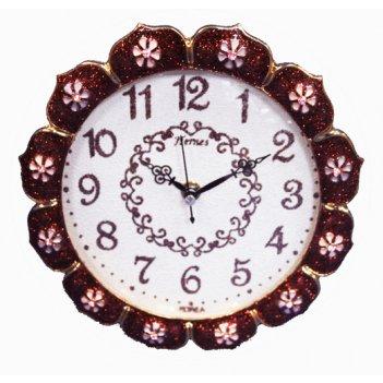 Настольные часы b&s jh-t014 brown