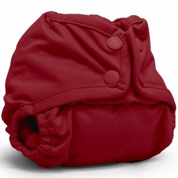 Подгузник для плавания one size snap cover kanga care scarlet