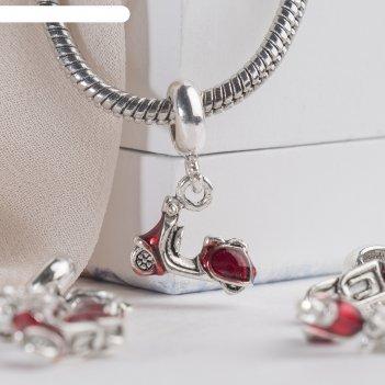 Разделитель мопед, цвет красный в серебре