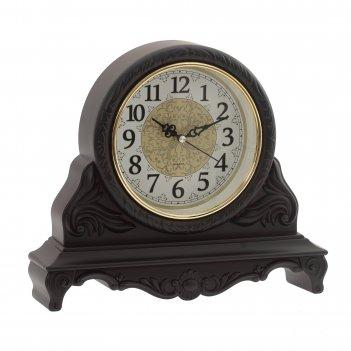 Часы настольные декоративные , l34 w8 h31 см, (1хаа не прилаг.)