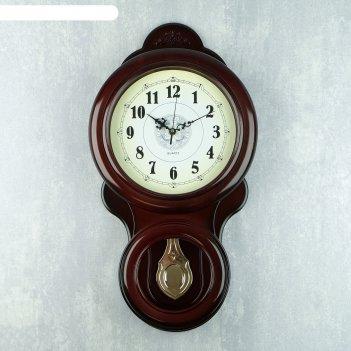 Часы настенные с маятником онега, 60х30 см