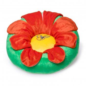 Мягкая игрушка пуф цветок