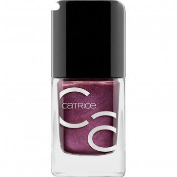 Лак для ногтей catrice iconails gel lacquer, тон 80 cherry bite черешневый