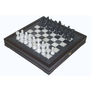 Шахматы каменные европейские (высота короля 3,50)