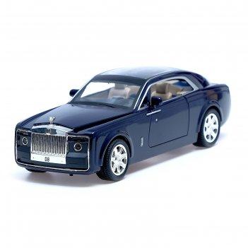 Машина металлическая «купе», 1:24, открываются двери, капот, багажник, ине