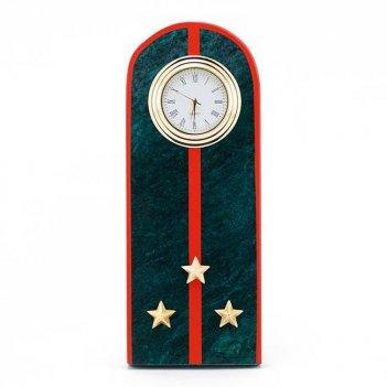 Часы погон старший лейтенант мвд нового образца змеевик