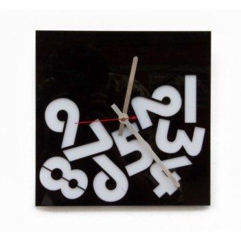 Красивые настенные часы время упало cl130 26х26см