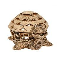 Садовый светильник черепаха шамот