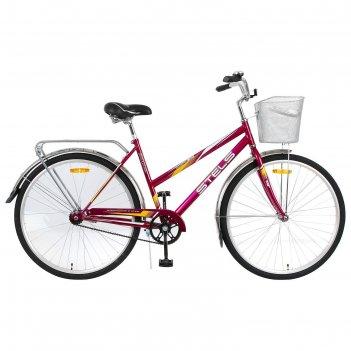 Велосипед 28 stels navigator-300 lady, z010, цвет фиолетовый, размер 20
