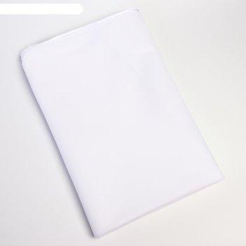 Наматрасник 60*120 см., арт. 985, с резинкой, микрофибра, цвет белый