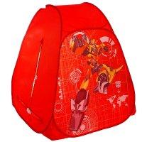 Детская палатка трансформеры, цвет красный