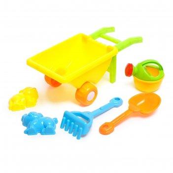 Песочный набор малыш садовник, 6 предметов