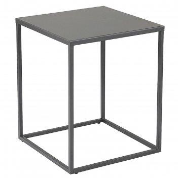 Столик кофейный velluto, антрацитовый, 37x37x45 см
