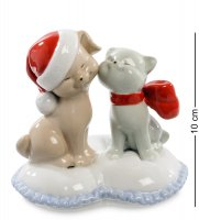 Jp-31/32 статуэтка кошка с собакой (pavone)