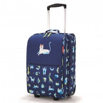 Чемодан детский trolley xs abc friends blue, водоотталкивающий полиэстер