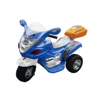 Электромотоцик детский цвет синий новинка 2014 года