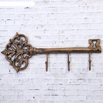 Крючки декоративные металл большой ключ 16х38,7х5,5 см