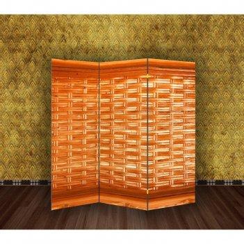 Ширма плетёнка, 160 x 150 см