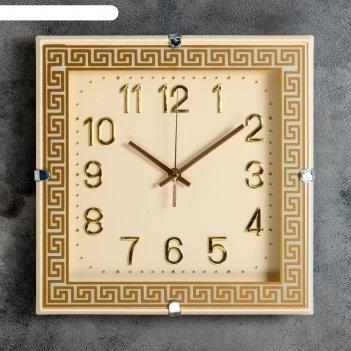 Часы настенные, серия: классика, витина, 29х29 см