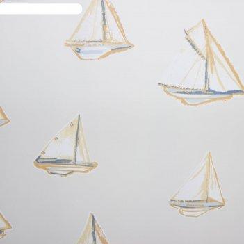 Тюль этель в детскую регата без утяжелителя, ширина 250 см, высота 270 см
