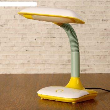 Лампа настольная ledх10 11w 220в теплота жёлтая 37х25х14,5 см