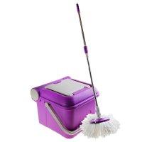 Набор для уборки чудо-швабра, 3 предмета: ведро с отжимом, швабра, запасна