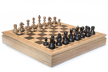 Шахматы стародворянские дуб
