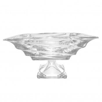 Фруктовница crystalite giftware casablanca 28см