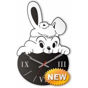 Часы заюшка сl1101 28х44см