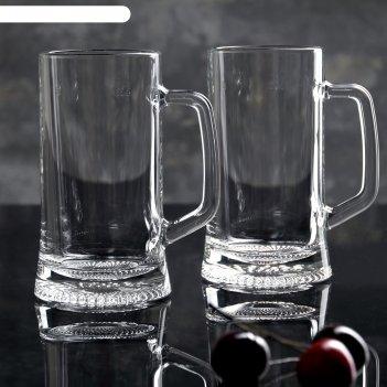 Набор кружек для пива 330 мл дрезден, 2 шт